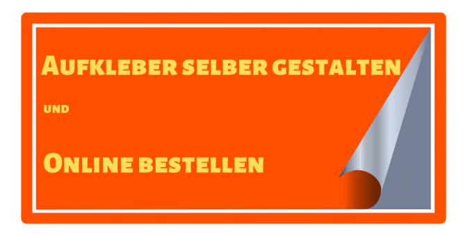 Aufkleber selber gestalten und Online bestellen auf thedandy.de